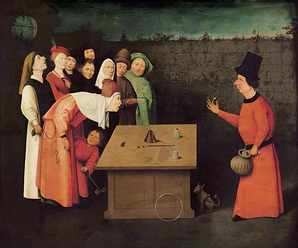 Geschiedenis van de goochelkunst